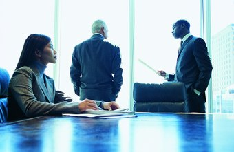 Top executives may work for small, mid-size or large businesses.