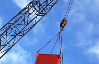 Crane operators follow strict safety standards to do their job.