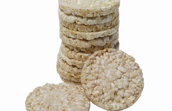 Rice cakes are low in calories but not particularly filling.