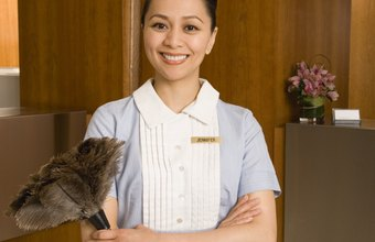 Service workers can be evaluated based on professional demeanor and quality of service.