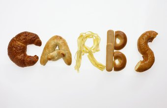 You may need more or fewer carbs depending on how active you are.