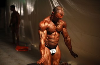 Muscle size, symmetry and leanness are key in bodybuilding.