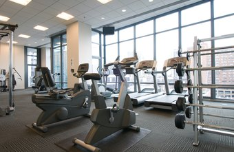 Gym equipment can be used to tone core muscles and hamstrings.