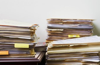 Reduce office clutter by scanning documents and saving them as PDF files.