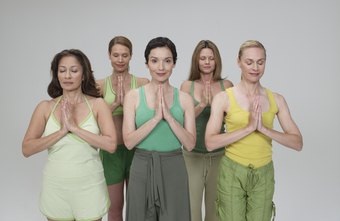 Mind and body classes like yoga or Pilates can help relieve the stress of menopause.