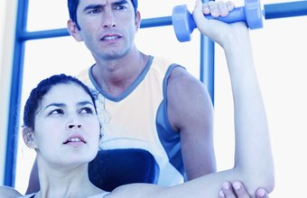 Personal trainers work in fitness centers and clients' homes.