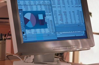 Excel spreadsheets can contain complicated charts, graphs and calculations.