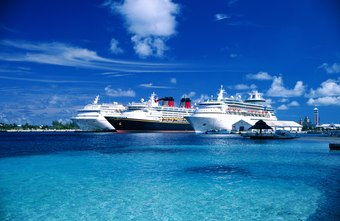 Cruise ship itineraries take you to exotic locations.