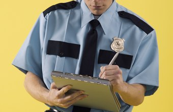 Security guards undergo extensive criminal background checks before going on duty.