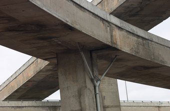A civil engineer's education prepares him to tackle jobs such as designing highway overpasses.