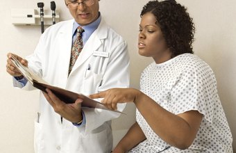 Doctors consult the medical histories of patients to make informed decisions.