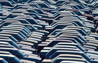 Working at car rentals means responsibility for large numbers of vehicles.