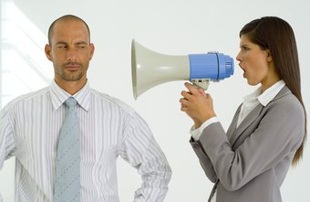 Yelling often discourages or intimidates employees and rarely achieves good results.