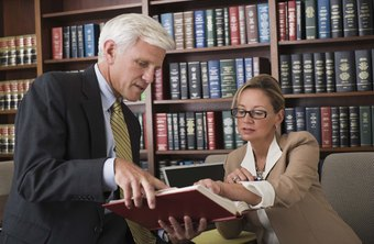 Senior paralegals help lawyers with their work.