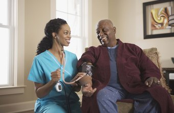 Private duty nurses provide in-home healthcare.