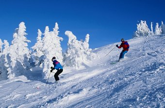 Ski resorts often hire seasonal part-time employees during winter months.