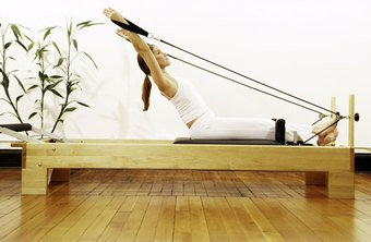 Pilates utilizes different pieces of equipment.