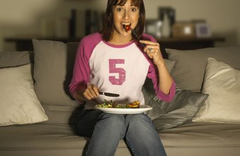 Eating in front of the TV can distract you and cause overeating.