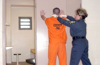 Searching inmates is part of the job description of a corrections officer.