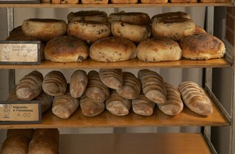 Some bakeries specialize in breads or cakes.