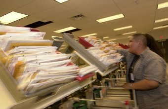 Seasonal IRS workers handle the influx of newly filed tax returns.