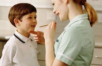 Medical assistants must be able to get children to cooperate with an exam.