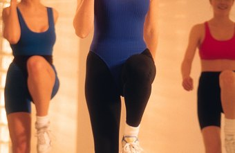 Step aerobics provides a beneficial workout.