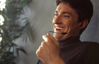 A call center employee may offer special incentives to customers, who are asked to make an immediate buying decision.