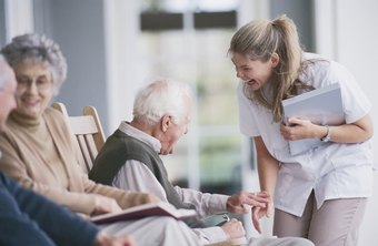 Resident assistants offer support to residents of assisted living facilities.