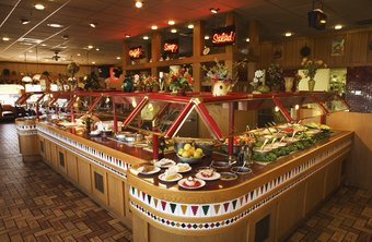 A beautiful buffet needs to be well stocked and properly maintained for safe consumption.