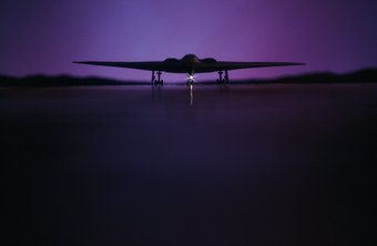The B-1 should not be confused with the stealth bomber.
