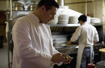 The slow time for chefs is when they prepare for lunch or dinner openings.