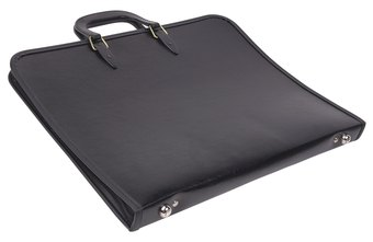 Organize your portfolio documents in a classic binder.