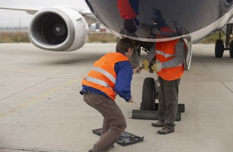 Mechanics keep planes flying safely.