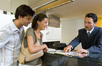 A receptionist strives to provide excellent customer service.