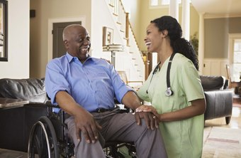 Nurses can work with a specific patient population, such as the elderly.