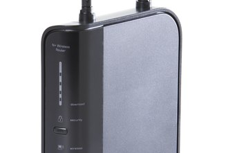Many routers have externally visible antennas.