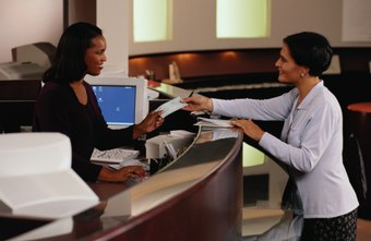 Bank tellers should have strong customer service skills.