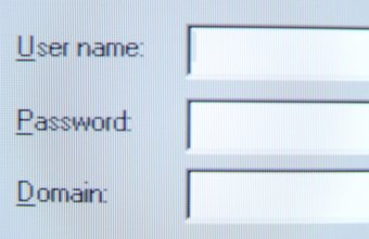 A forgotten password can be reset.