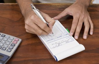 Receipt books help your business track its sales.