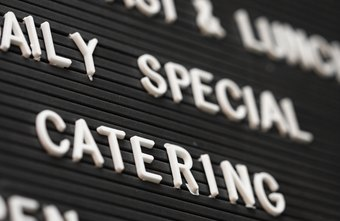 Offering special services such as catering can help you to gain new customers.