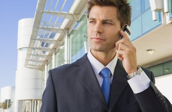 Cell phones keep key employees in contact when they are away from the office.