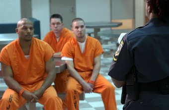 Prison guards often oversee dangerous inmates.