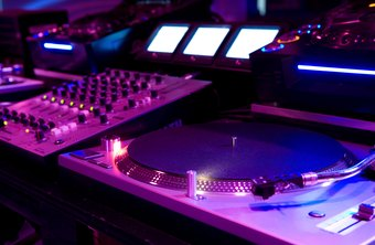 DJs go to professional audio dealers to build their control boards for recording and live shows.