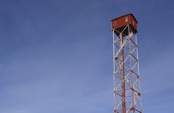 Forest fire lookouts keep an eye out for signs of wildland fires in public and private forests.