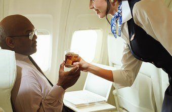 Flight attendants working on international flights may speak fluently in different languages.