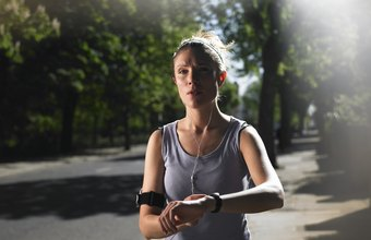 Discipline while running is largely a matter of mental focus.