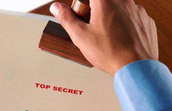 Access to top secret information is limited to those with clearance.
