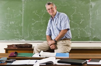 Math professors may have both research and teaching duties.