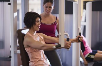 Personal trainers help clients with cardio, muscular and flexibility needs.